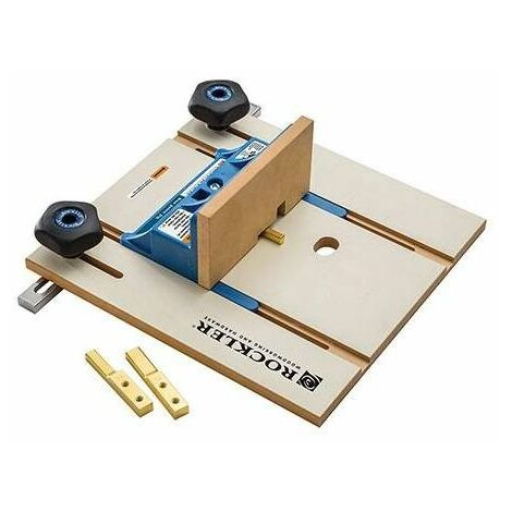 """Rockler 422866 Router Table Box Joint Jig 1/4"""" / 3/8"""" / 1/2"""""""