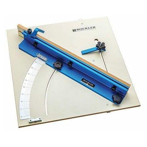 "Rockler 676250 Tablesaw Cross-Cut Sled 603 x 603mm (23-3/4"" x 23-3/4"")"