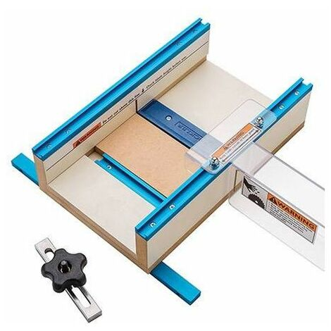 """Rockler 996182 Table Saw Small Parts Sled 12"""" x 15-1/2"""" x 3-1/2"""""""