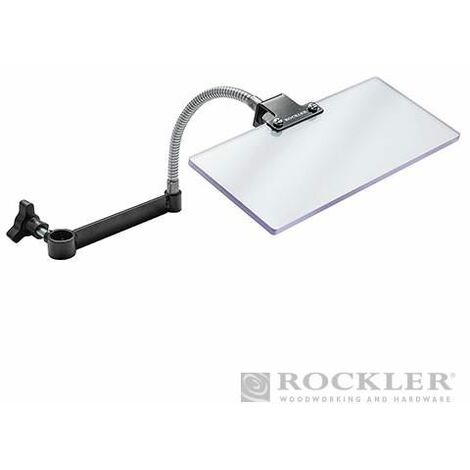 "main image of ""Rockler Lathe Chip Deflector H x L: 102 x 229mm (4 x 9"") 785820"""