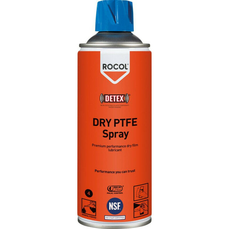 FP - ROCOL PTFE-Spray 400ML Dry PTFE Spray (Par 12)