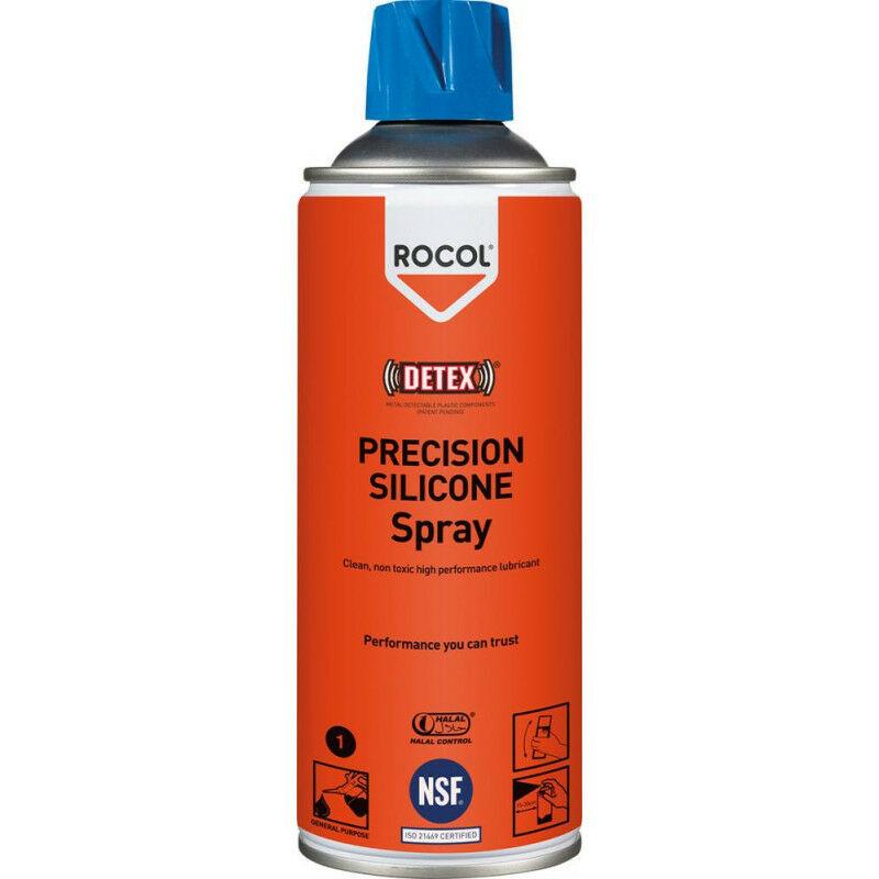 FP - ROCOL Spray Silicone 400ml Precision Silicone (Par 12)