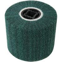 Rodillo abrasivo de nylon, 100 x 120 mm Rodillo de nylon, 100 x 120 mm, grano 180