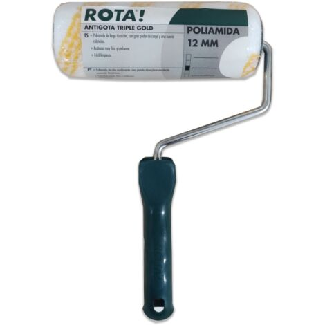 RODILLO COMPLETO ANTIGOTA TRIPLE GOLD 18 CM
