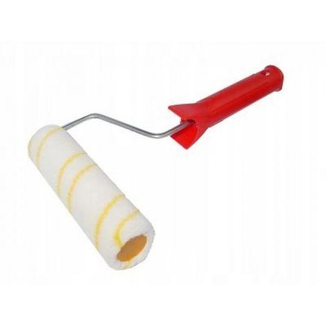 Rodillo para pintar hilo dorado con mango 25 cm fi