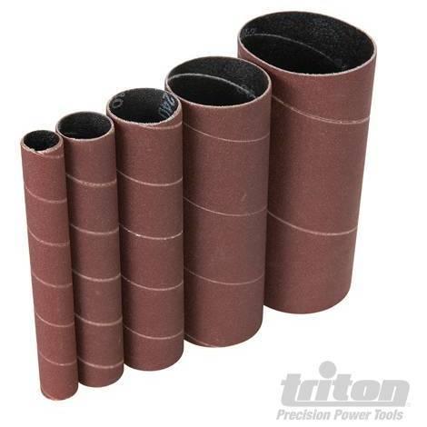 Rodillos de lija de óxido de aluminio, 5 pzas