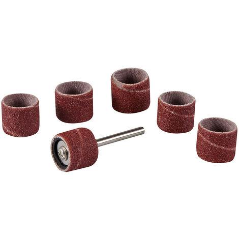 "Rodillos para lija para herramienta rotativa, 7 pzas 12,7 mm (1/2"") - NEOFERR"