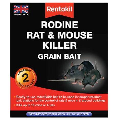 Rodine Rat & Mouse Killer Grain Bait 2 Sachets (RKLPSMR11)