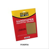 Rodo Fit For The Job Assorted Sandpaper 5 Sheets