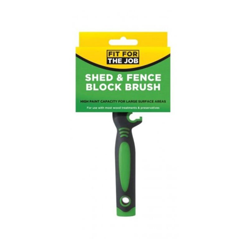Image of FFJ Shed & Fence Block Brush For Painting Large Areas