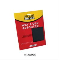 Rodo Fit For The Job Wet and Dry Assorted 5 Sheets