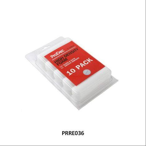 rodo prodec high density foam refills 4 inch 10 pack. Black Bedroom Furniture Sets. Home Design Ideas