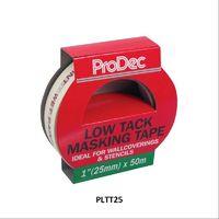 Rodo ProDec Low Tack Tape Masking Tape 25mm