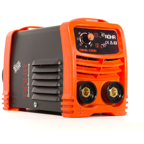 RÖHR ARC Welder Inverter SMINI 240V 120 amp MMA DC Portable Stick Welding Machine