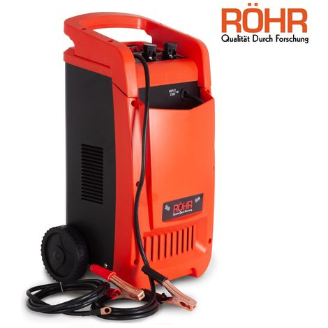 RÖHR DFC-450P 12V / 24V Car Battery Charger - Heavy Duty Trickle / Turbo Charge With Pulse Repair