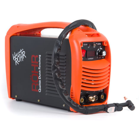 RÖHR HP-160L - TIG ARC Welder Inverter MOSFET MMA 240V / 160 amp, DC Portable Machine