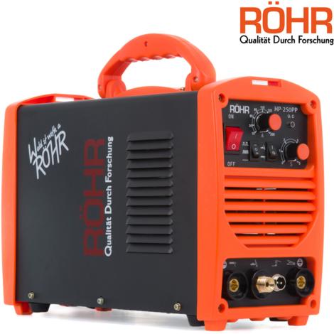 Röhr HP-250PP - Soldador de Arco TIG invertido 250 Amp - MMA Con MOSFET - CC - 240 V