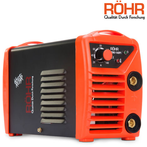 RÖHR MINI-140PI - ARC Welder Inverter MINI 240V 140amp MMA DC Portable Stick Welding Machine