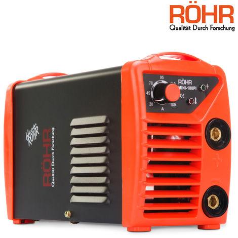 RÖHR MINI-180PI - ARC Welder Inverter MINI 240V 180amp MMA DC Portable Stick Welding Machine