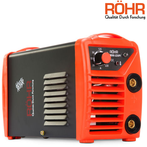 RÖHR MINI-220PI - ARC Welder Inverter MINI 240V 220amp MMA DC Portable Stick Welding Machine