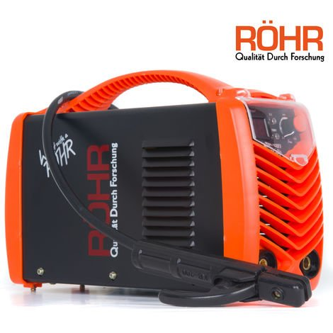 RÖHR MMA-160FI - ARC Welder Inverter MMA 240V 160amp DC Portable Stick Machine