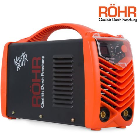 Röhr MMA-200FI - Inverter-Schweißgerät für MMA-Schweißen - DC - IGBT-Technologie - 240 V - 200 A