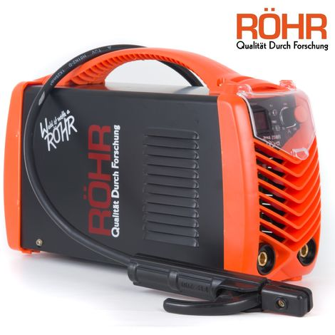RÖHR MMA-250FI - ARC Welder Inverter MMA 240V 250amp DC Portable Stick Welding Machine