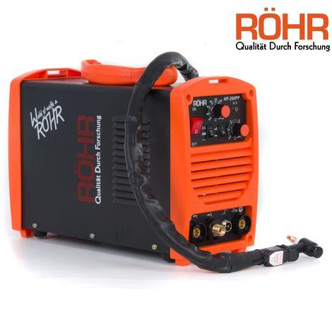 Röhr - Poste à souder à l'arc HP-200PP - TIG / onduleur MMA / MOSFET - 240 V - 200A DC