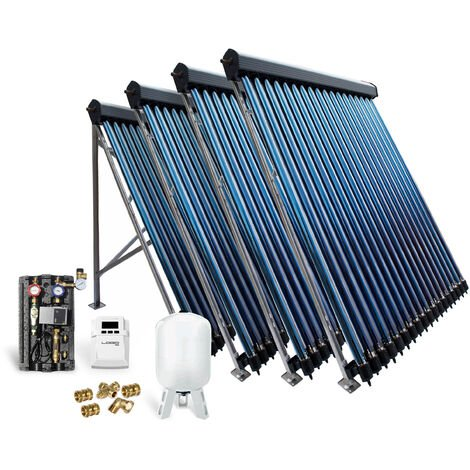 Röhrenkollektor Solarpaket Vakuumröhrenkollektor HP22-4 14,44 m² Solaranlage