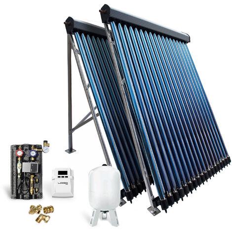 Röhrenkollektor Solarpaket Vakuumröhrenkollektor HP30-2 9,78 m² Solaranlage