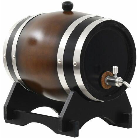 "main image of ""Rogal barril de vino con grifo madera de pino maciza 6 l Rogal"""