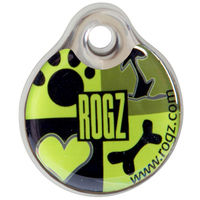 Rogz Id-Tagz Instant 34mm Lime Juice