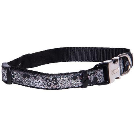 Rogz Lapz Trendy Collar Medium Black