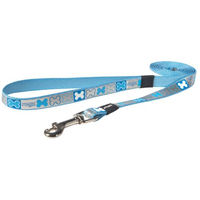 Rogz Pupz Reflecto Lead Blue Medium