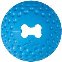 Rogz Toyz Gumz Rubber Ball Blue Large