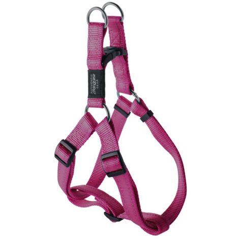 Rogz Utility Pink Step-In Harness Nitelife
