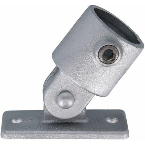 """Rohrverbinder Flansch mit Gelenkanschluss 1 1/4"""" (42,4 mm) AVERDE"""