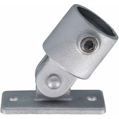 """Rohrverbinder Flansch mit Gelenkanschluss 1"""" (33,7 mm) AVERDE"""