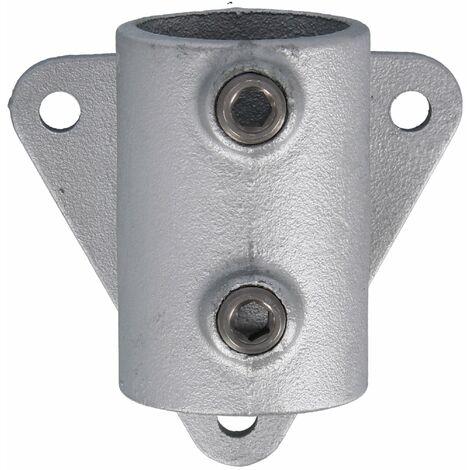 """Rohrverbinder Schraubhalterung 1 1/2"""" (48,3 mm), 90° Dreieck AVERDE"""