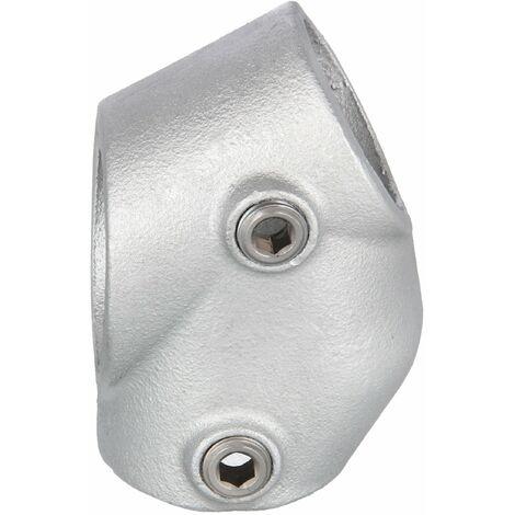 """Rohrverbinder T-Verbinder 1 1/4"""" (42,4 mm), 30°- 60° - schräg AVERDE"""