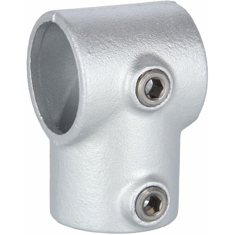"48,3 mm Stück Rohrverbinder Temperguss Winkelgelenk verstellbar 1 1//2/"""