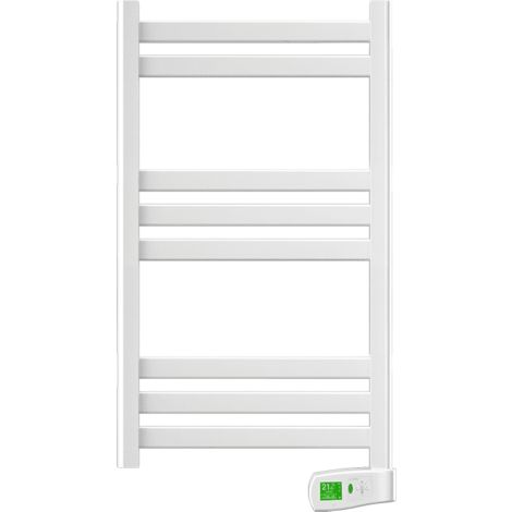 Rointe Kyros KTI030SEB3 300W White Electric Towel Rail 900mm