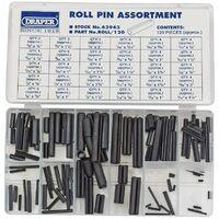 Roll Pin Assortment (120 Piece) (63943)