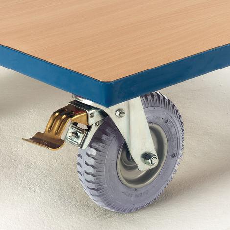 Rollcart Luftbereifung in blaugrau Mehrpreis