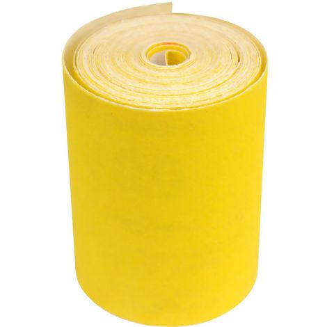 Rolle Handschleifpapier 93 mm x 5 m Körnung 40 bis 320