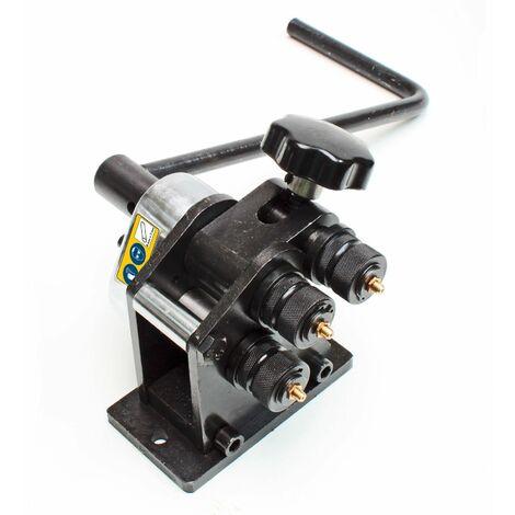 Rollenbiegemaschine Biegemaschine Rollenbiegegerät Biegegerät 5 / 7 mm