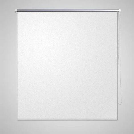 Roller Blind Blackout 100 x 175 cm White