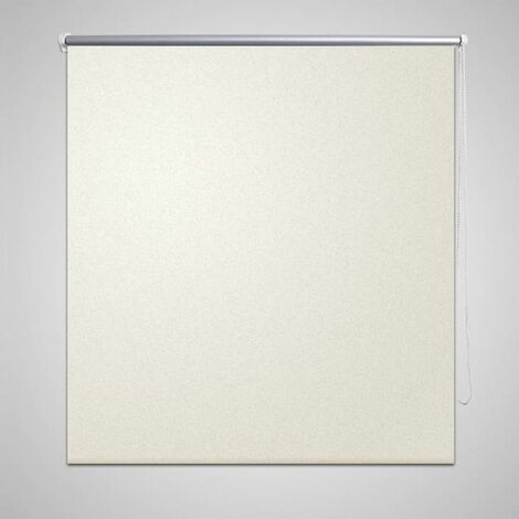 Roller Blind Blackout 100 x 230 cm off White