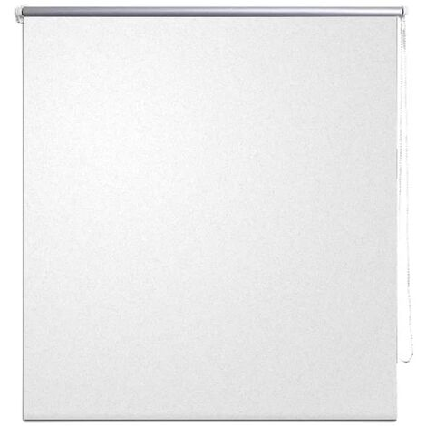 Roller blind blackout 100 x 230 cm white