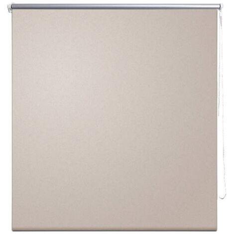Roller blind blackout 120 x 175 cm beige